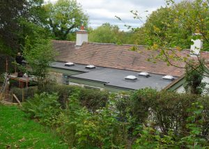 Large Flat Roof Extension with Rooflights