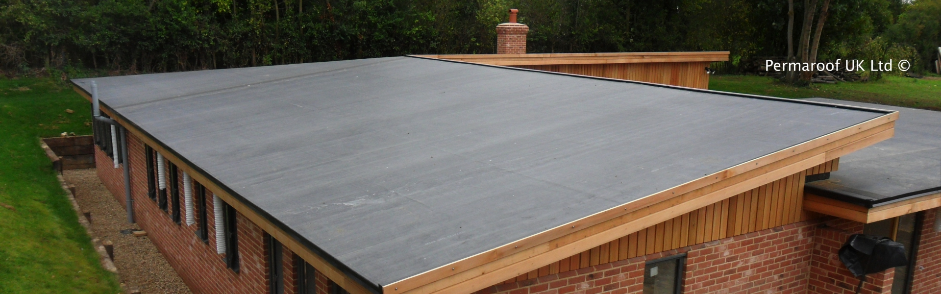 New Build Low Sloped Roof Permaroof
