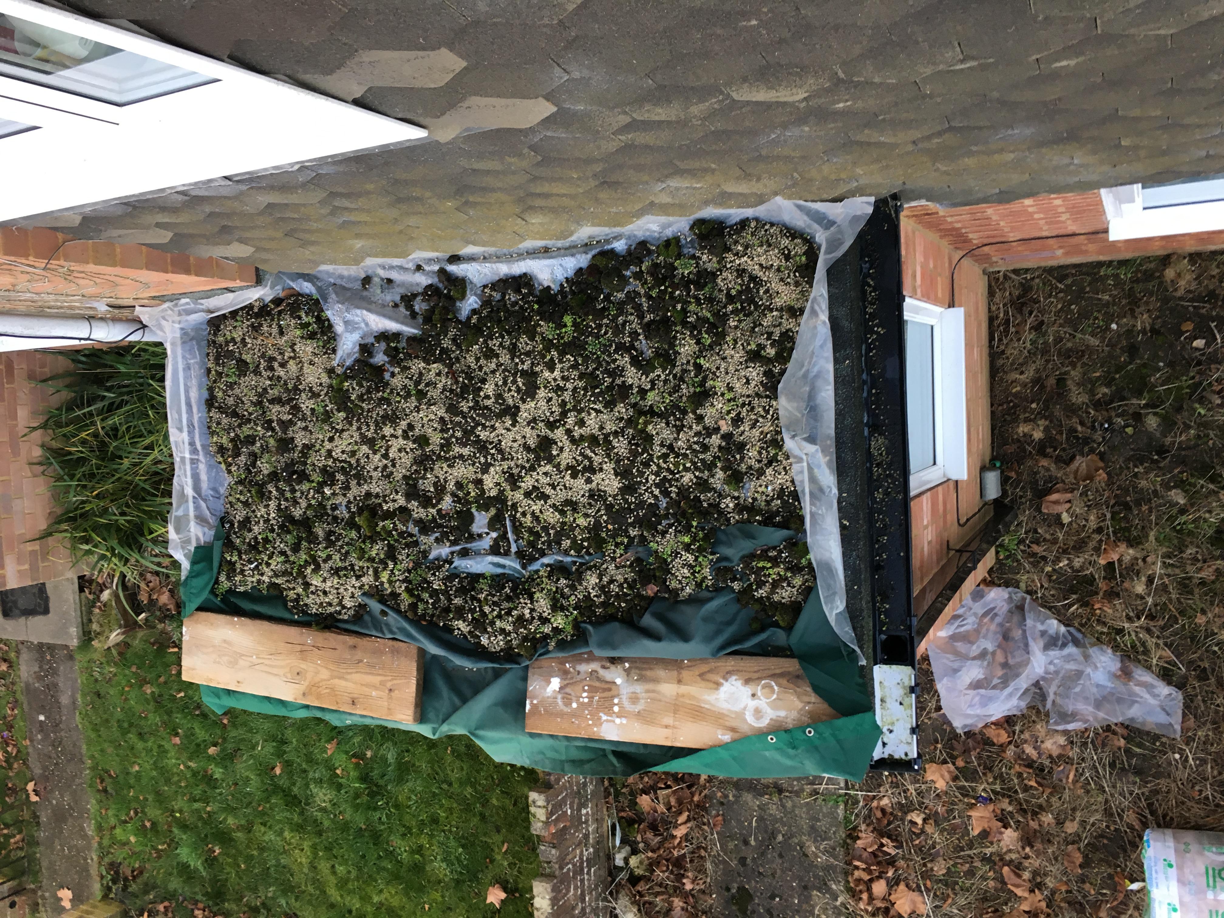 Porch renewal edpm roof