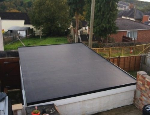 Outbuilding Flat Roofing